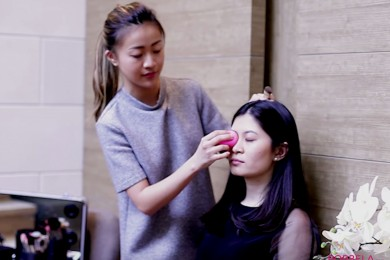 Cara Mengaplikasikan Foundation Tutorial Bersama Makeup Artist Hollywood Kita, Archangela Chelsea