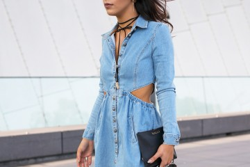 Yuk, Tampil Kasual dan Chic dengan Denim Dress!