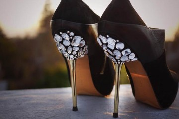 DIY: Jewels on Your Heels!