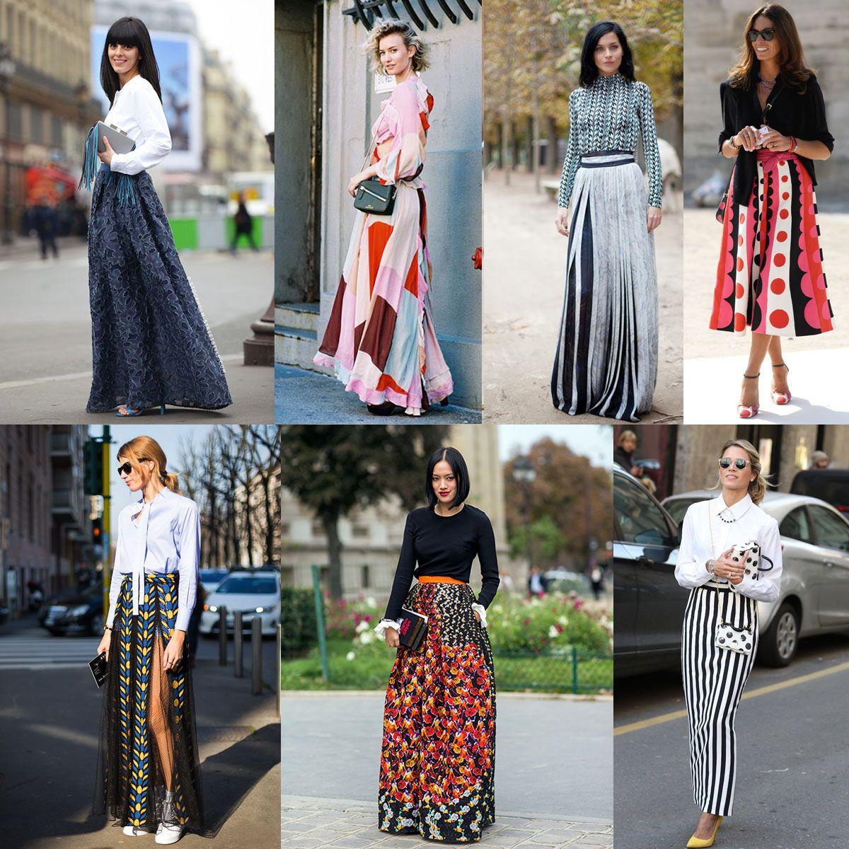 Ini Dia Trik Mix And Match Maxi Skirt Agar Tampilanmu Lebih Trendi