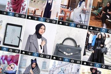 Inspirasi Hijab Ala Artis Instagram Indonesia