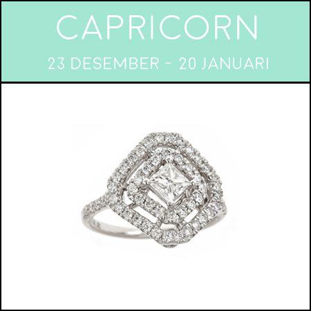 cincin tunangan capricorn