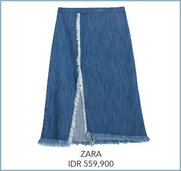 Wrap Skirt. Rok Berpotongan Asimetris Untuk Playful Twist Tampilanmu