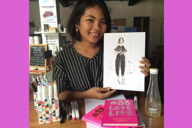 Dinda Puspitasari, Ilustrator #88 Love Life, Berbagi Cara Kreatif untuk Mencintai Diri Sendiri