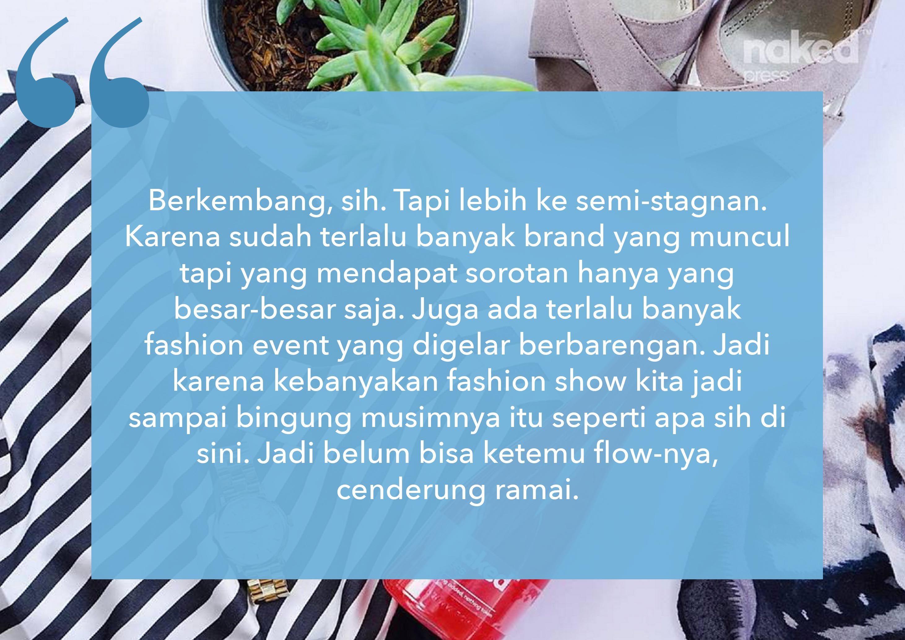 Menghadapi Tantangan Industri Fashion Indonesia Bersama Ayla Dimitri