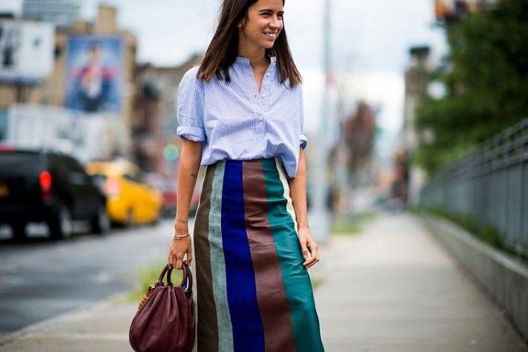 Colorful Stripes Vibes. Motif Garis Multiwarna Tampil Segar untuk Gaya yang Fun