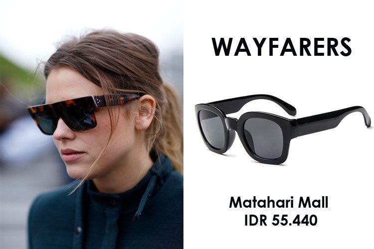 Yuk, Pilih Sunglasses Sesuai Bentuk Wajahmu