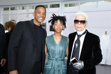 Sweet! Willow Ditemani Will Smith Di Acara Chanel Couture