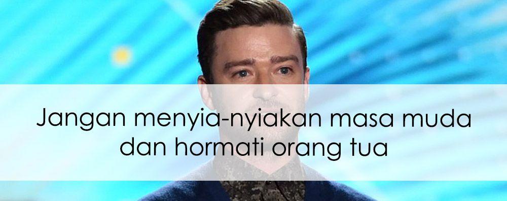 Terima Penghargaan, Justin Timberlake Sampaikan Pesan Inspiratif untuk Generasi Muda