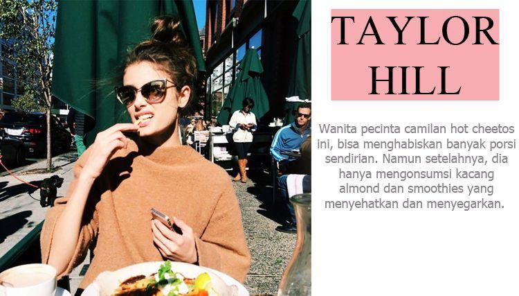 Tubuh Ideal Tidak Membuat Supermodel Ini Tahan Untuk Tidak Memakan Junk Food!