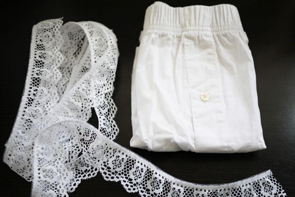 DIY : Lovely Lace Short Ala POPBELA