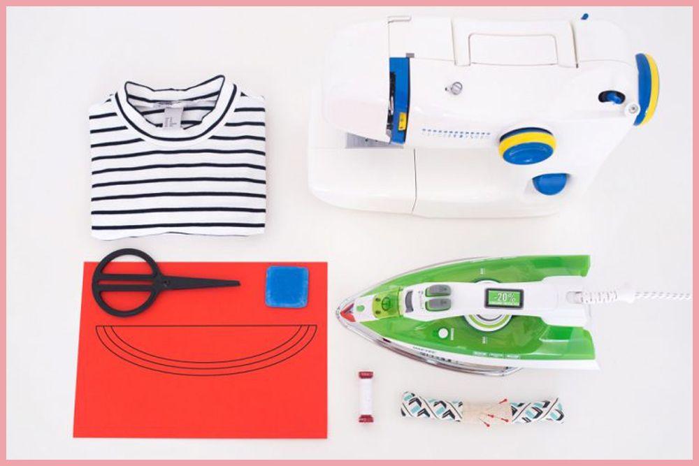Cara Membuat Baju Lama Kamu Terlihat Seperti Baru, Dengan DIY Boat Tee Shirt ini.