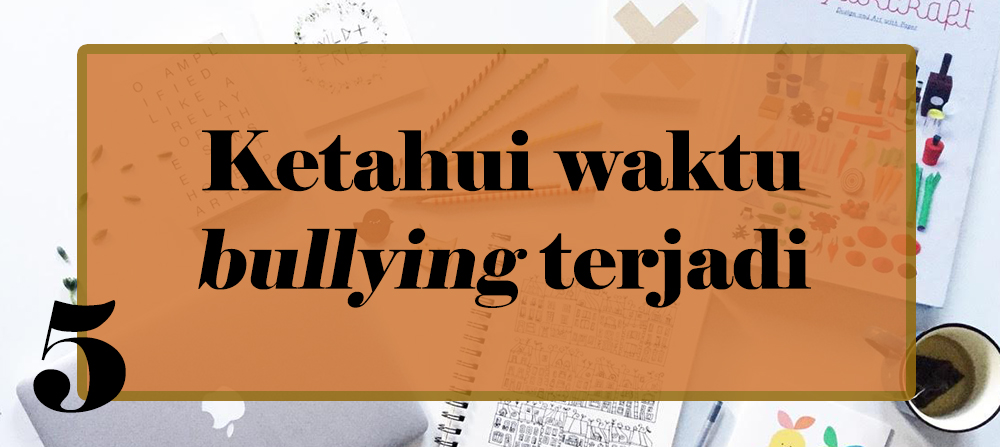 Cara Bersikap yang Benar Kalau Kamu Mengalami Bullying di Tempat Kerja