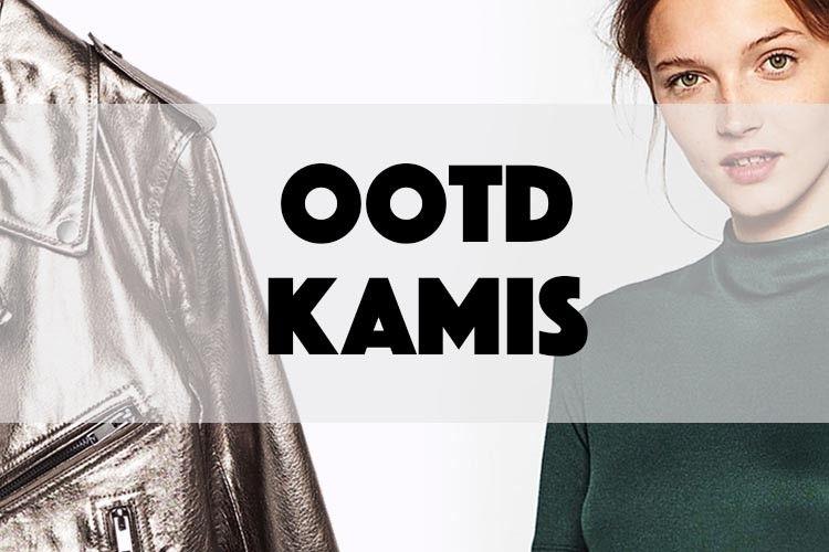 Tampil Super Cool dan Edgy dengan Mix and Match Metallic Leather Jacket di Hari Kamis