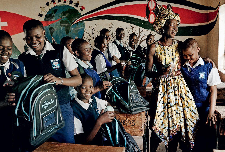 Lupita Nyong'o punya Pesan Penting untuk Para Wanita Berkulit Gelap