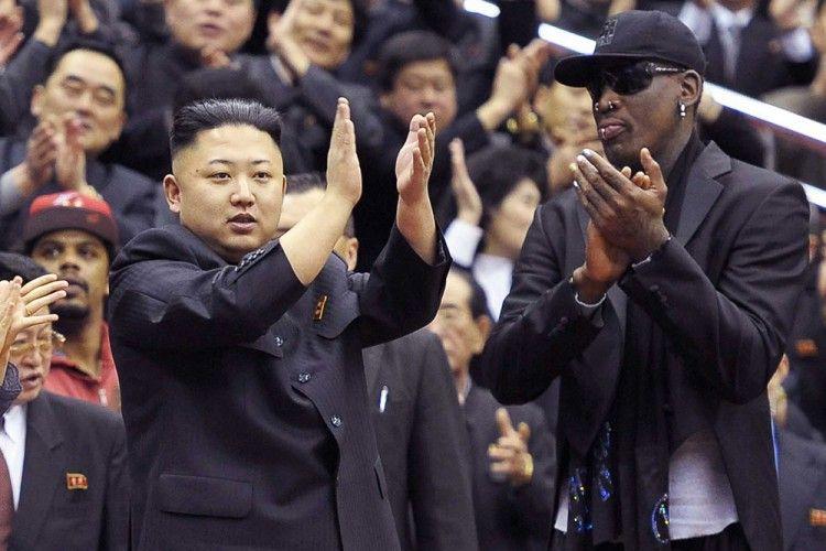 Mantan Bintang NBA, Dennis Roman, Nikahi Adik Kim Jong-un