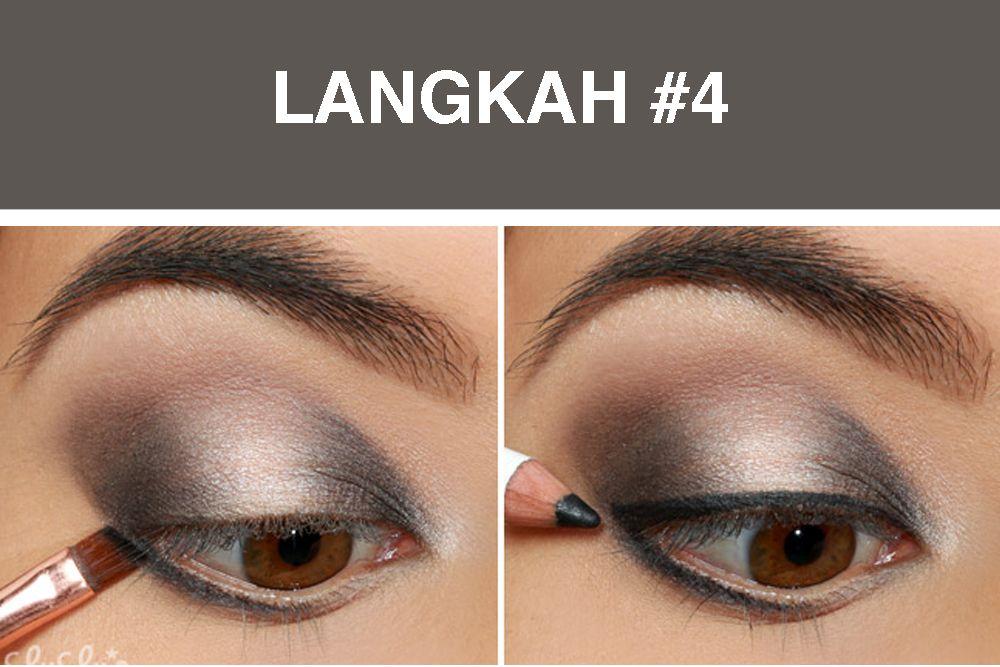 Inilah Tutorial Smokey Eye Membuat Mata Lebih Dramatis
