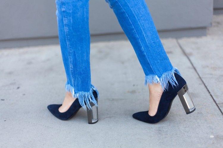 Sulap Celana Jeans Lama Kamu Jadi Lebih Trendi Dengan Ide DIY Fringe Denim