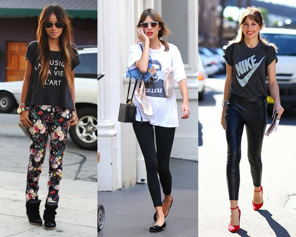 Tips Mix n Match Legging agar Kamu Tampak Lebih Fashionable