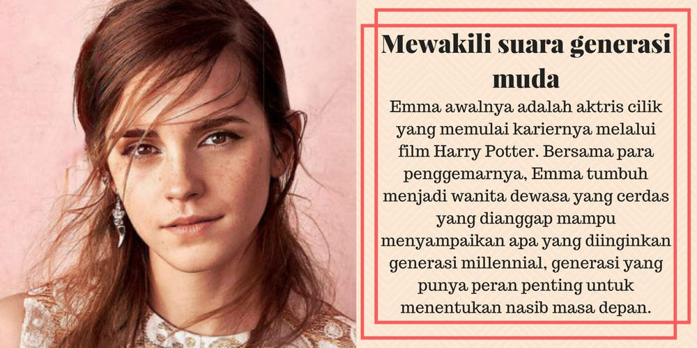 Perjalanan Emma Watson sebagai Duta Besar PBB untuk Kesetaraan Gender