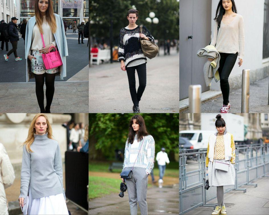 STILL TRENDING: Mix and Match Sweater untuk Musim Hujan
