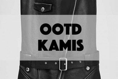 Tampil Super Edgy dengan Mix and Match Leather Jumpsuit di Hari Kamis