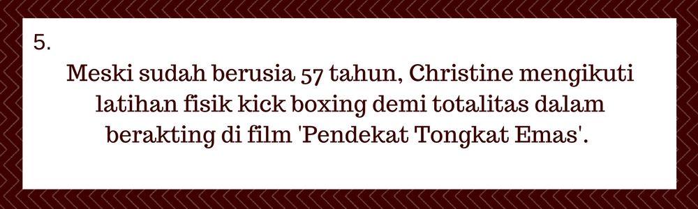 5 Hal Inilah yang Membuat Christine Hakim Pantas Memenangkan Kategori Life Achievement Festival Film Indonesia