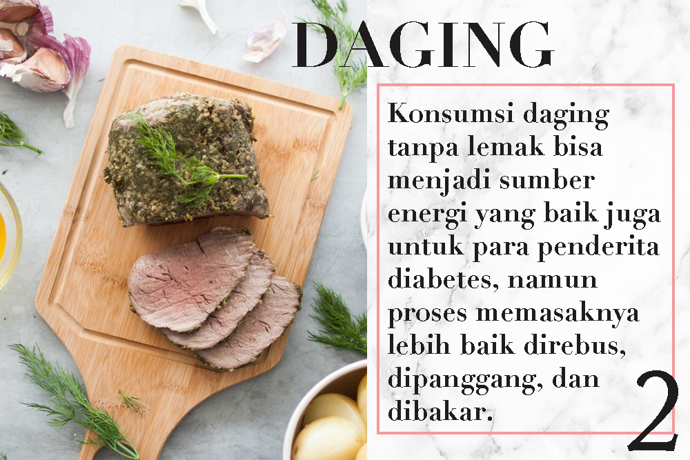 4 Jenis Makanan Sehatyang Baik Dikonsumsi Para Penderita Diabetes