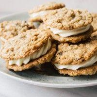 Resep Camilan Sehat Oatmeal Cookie Cream Pie Andalan Popbela