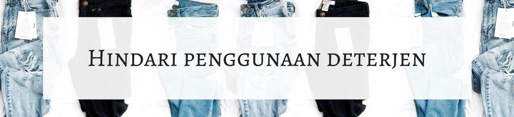 5 Tips Mencuci Jeans yang Wajib Kamu Tahu