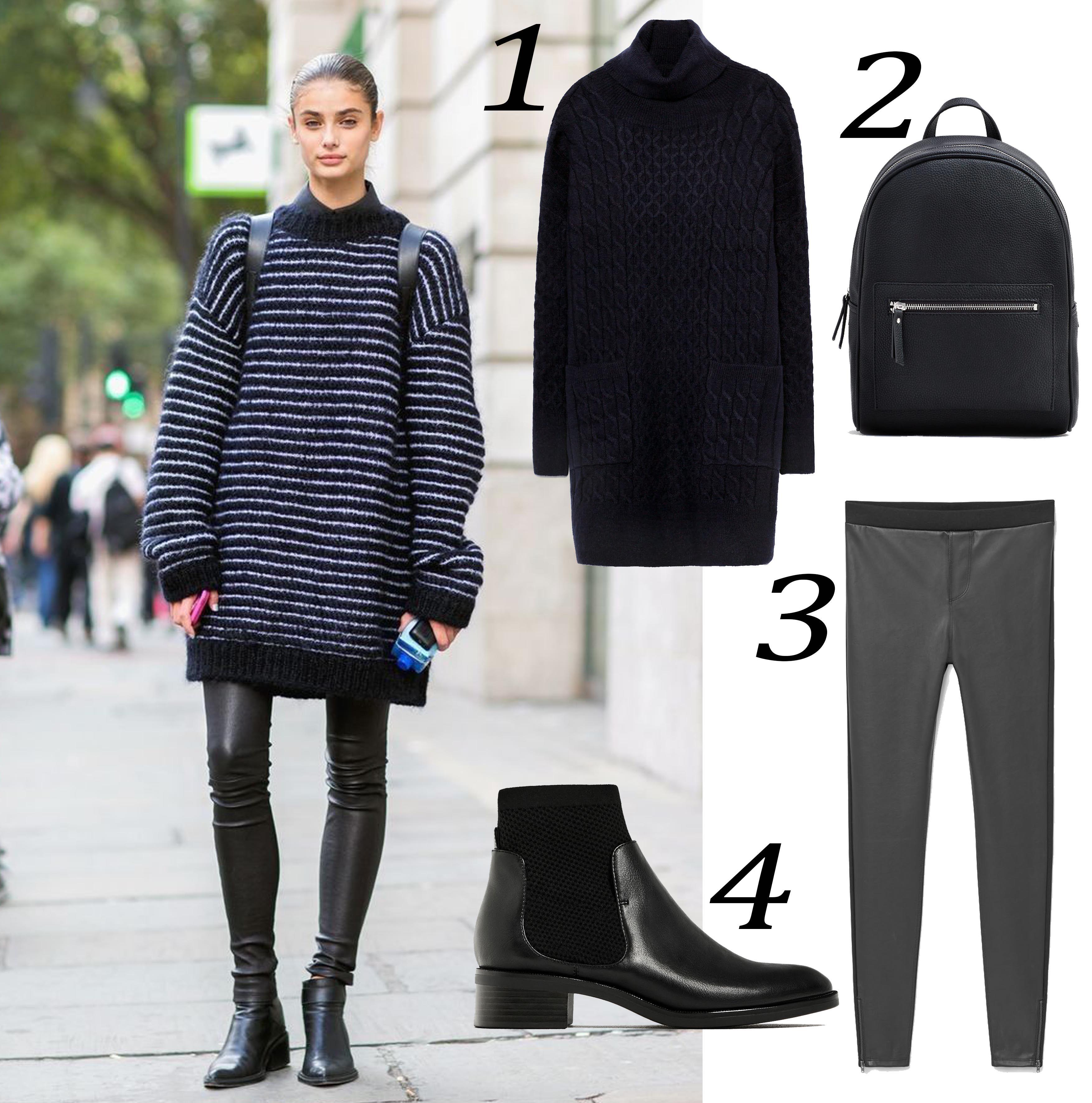 Ini Cara Mix N Match Sweater Dress Supaya Edgy!