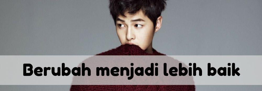 9 Pelajaran Hidup Aktor Song Joong Ki yang Membuatmu Tersenyum
