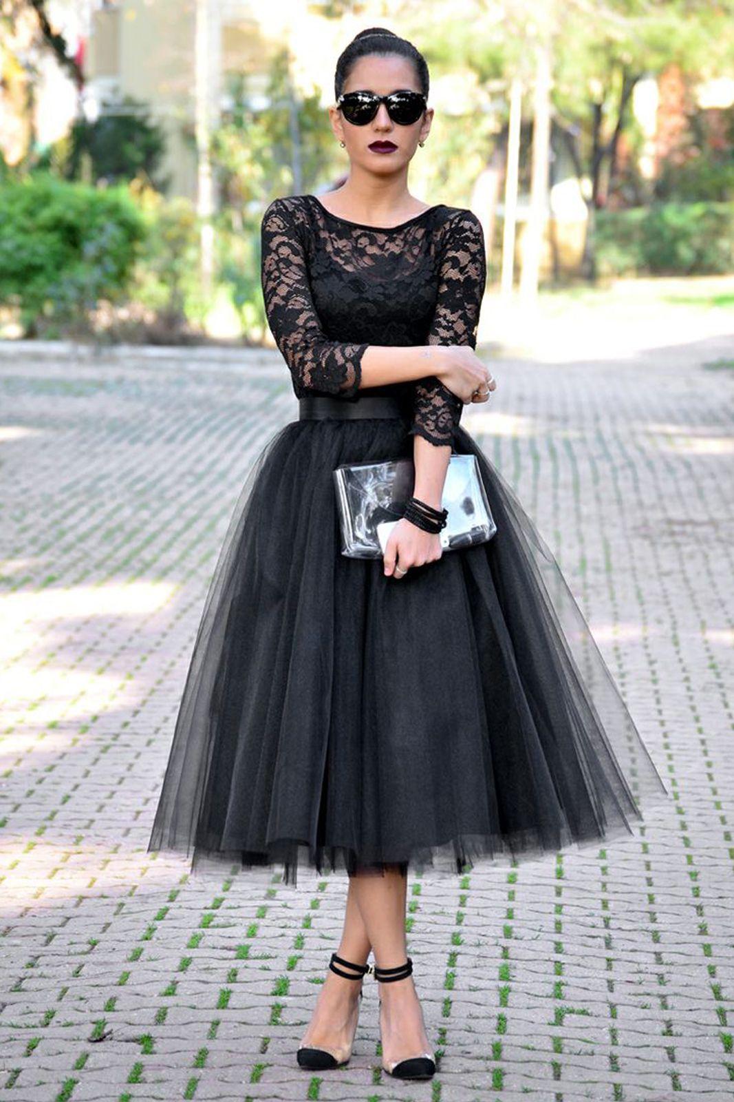 Tulle Skirt, Tren Fashion Baru yang Wajib Kamu Coba