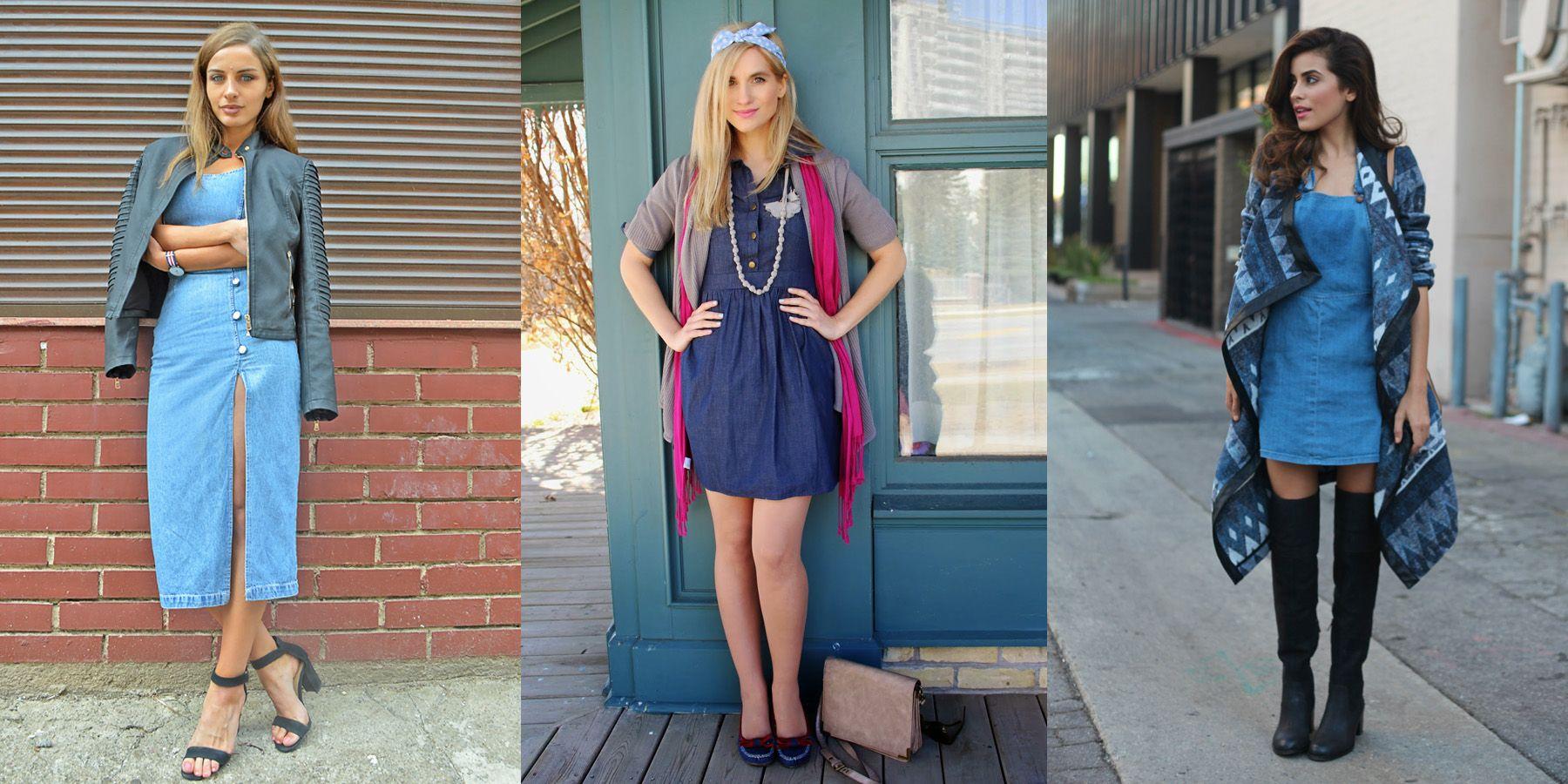 Yuk, Tampil Kasual dan Chic dengan Denim Dress!