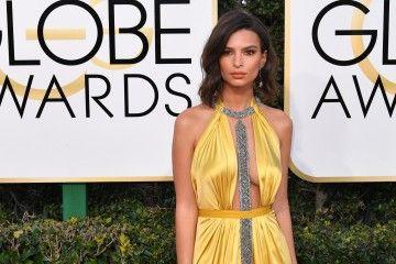 Gaya Glamor Para Selebriti di Karpet Merah Golden Globe Awards 2017