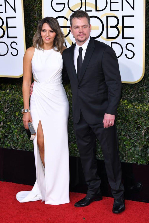 Bikin Iri! 10 Pasangan Paling Romantis di Red Carpet Golden Globes 2017