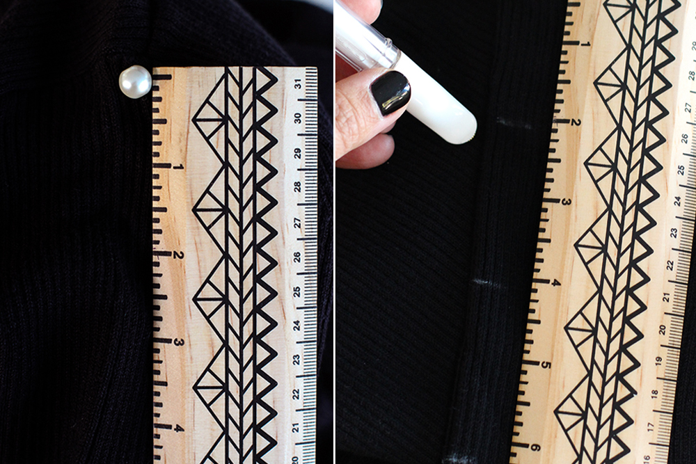 DIY Membuat Sweater Lama Menjadi Pearl Sweater yang Super Fancy