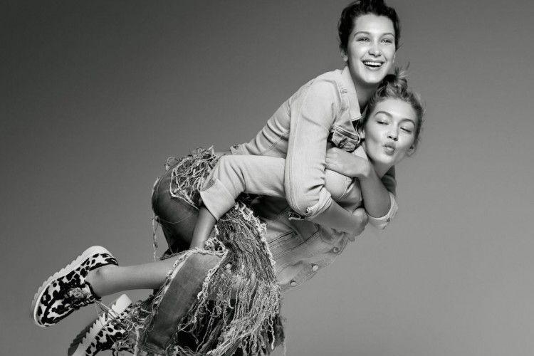 Gigi dan Bella Hadid Unjuk Kekompakkan Dalam Satu Fashion Campaign
