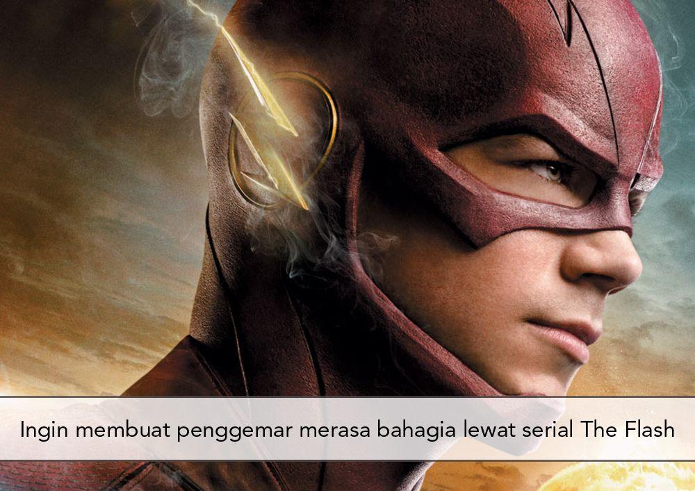 5 Fakta Menarik Soal Aktor Pemeran Serial The Flash, Grant Gustin