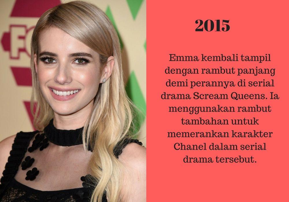 Mulai dari Cewek Biasa Sampai Jadi Superstar, Inillah Transformasi Emma Roberts 5 Tahun Terakhir