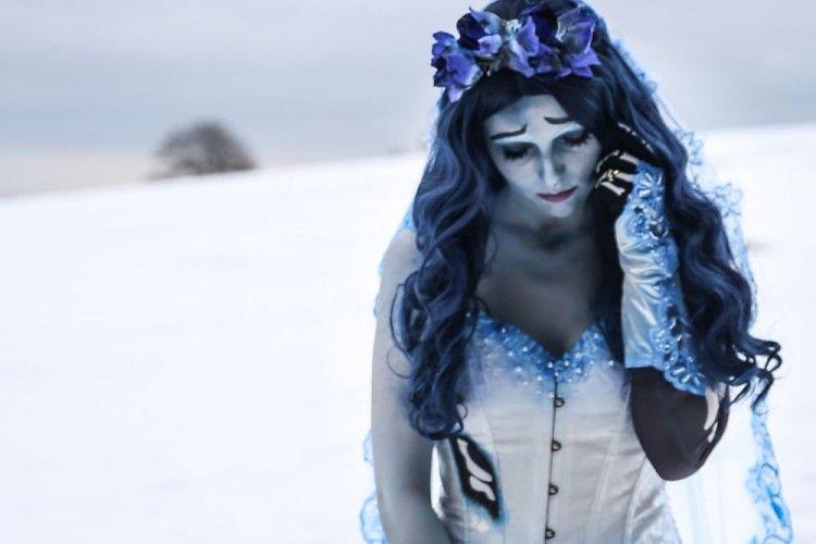 Mirip Banget! Gadis Ini Mengubah Dirinya Menjadi Sosok Karakter dari Film Karya Tim Burton