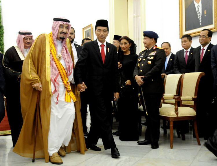 Inilah Beberapa Kejadian Kalau Kedatangan Raja Salman ke Indonesia Sangat Berkesan