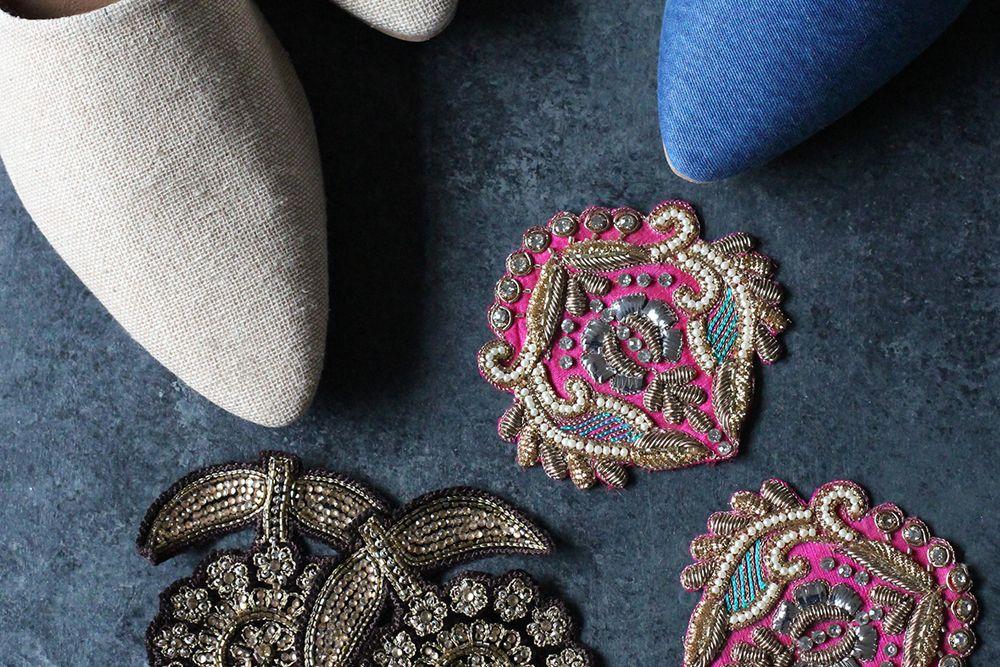 DIY Mudah Embroidery Sepatu Mules yang Bikin Penampilanmu Lebih Trendi