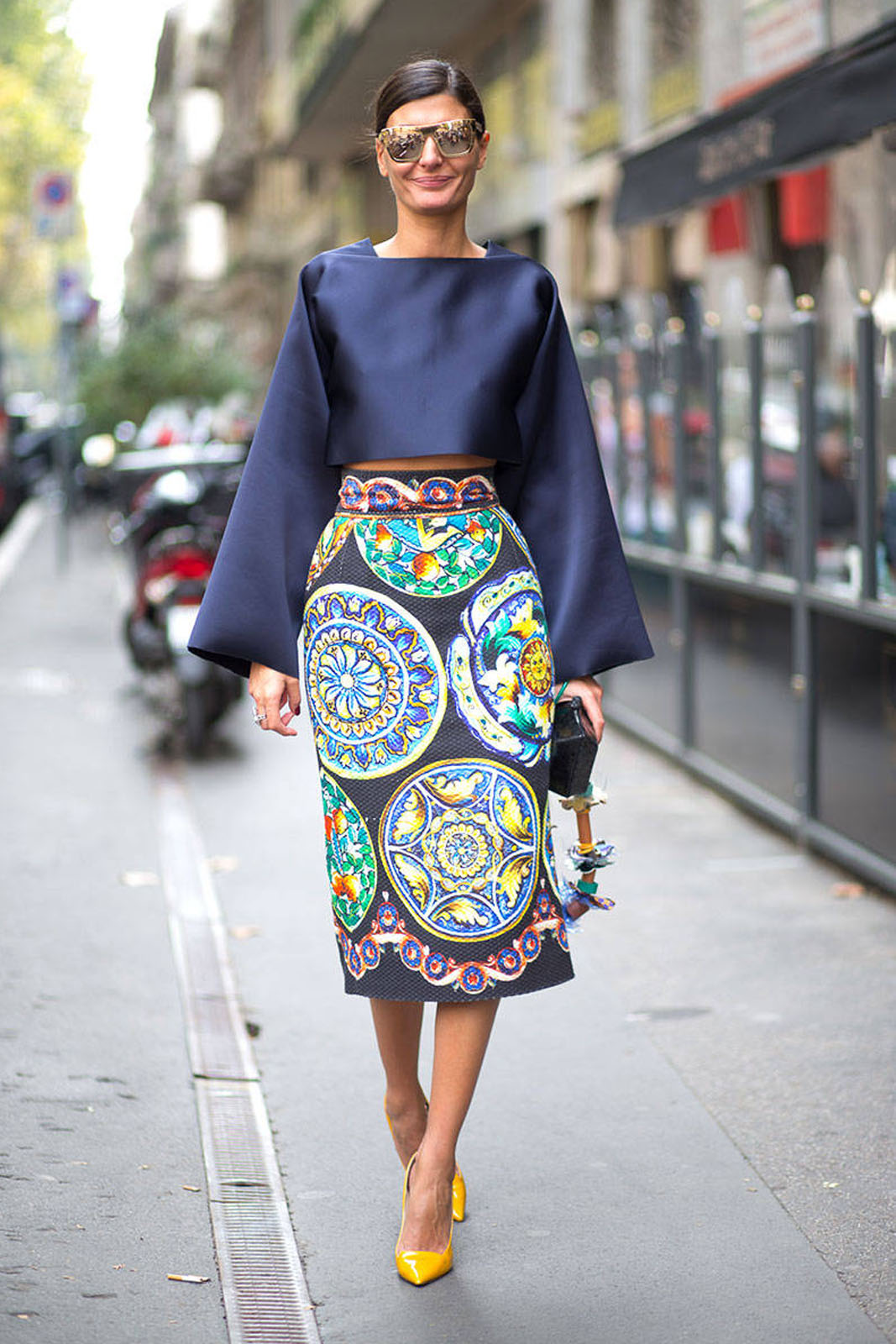 Tampil Cantik dengan Mix n Match High Waisted Skirt!