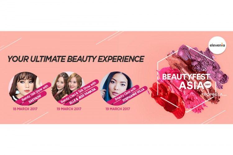 Elevenia Bantu Cewek Tampil Lebih Memukau Lewat Koleksi Makeup Khas Korea Selatan di BeautyFest Asia 2017