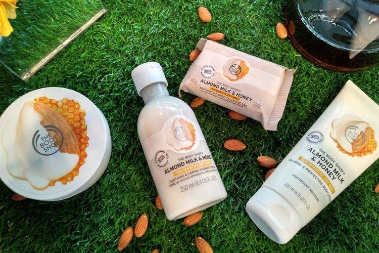 The Body Shop Luncurkan Almond Milk & Honey, Rangkaian Perawatan Tubuh untuk Si Kulit Sensitif