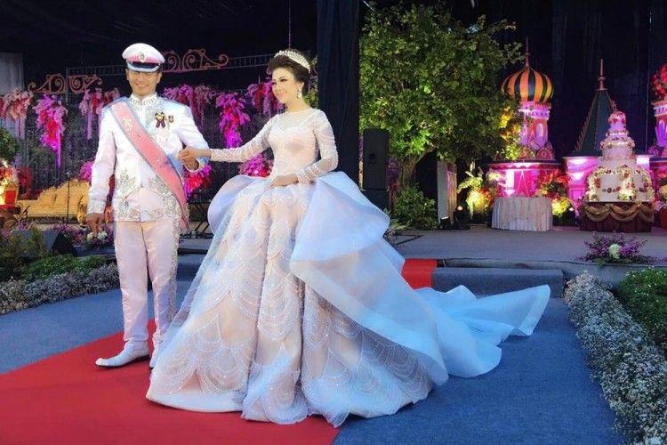 Fenomenal, Gaun Pernikahan Pengantin Indonesia Ini Jadi Sorotan Media Dunia