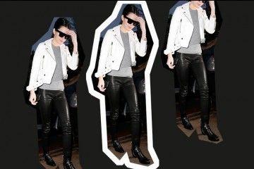 #PopbelaOOTD: Keren Pakai Jaket Kulit ala Kendall Jenner