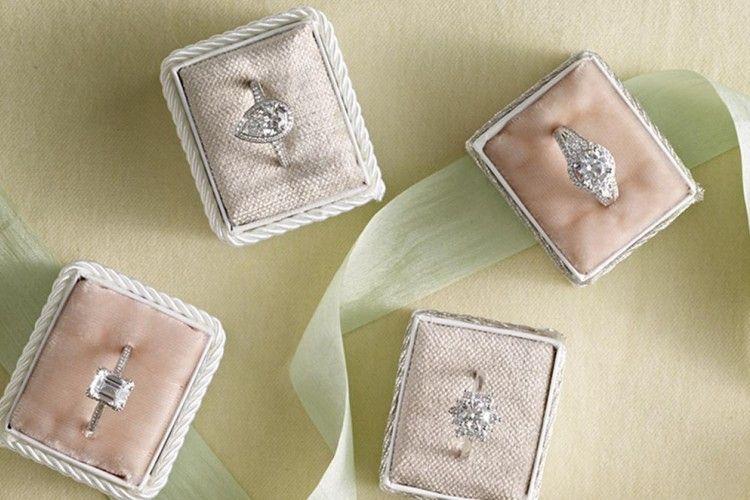Elegan, Ini Desain Cincin Pertunangan Terpopuler di Pinterest