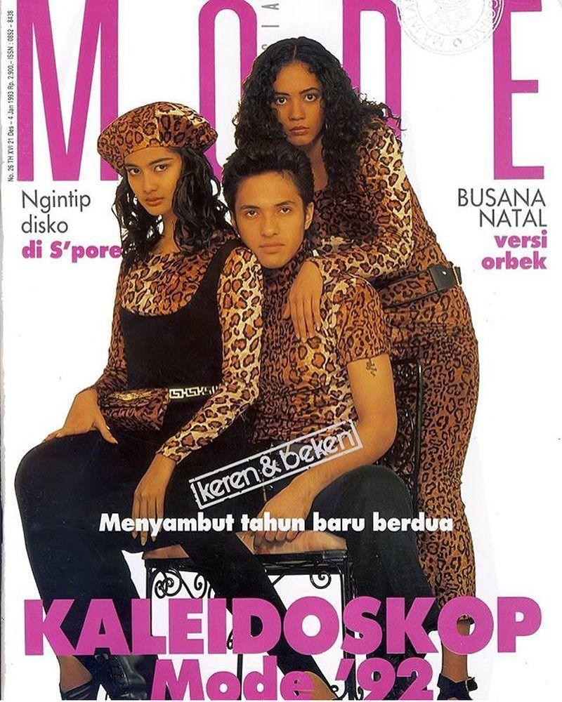 Imutnya Gaya Para Artis Di Cover Majalah Tahun 39 90an